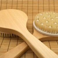 Body Brush with Massage Nodules