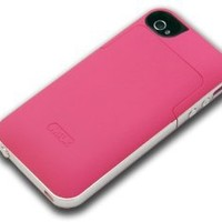 MilkBox 2000mAh Extended Battery Case For Apple iPhone 4/4S Verizon, Sprint AT&T-Pink