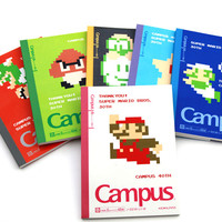 Super Mario 30th Anniversary Notebooks