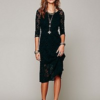 Free People  Raindrops Lace Dress at Free People Clothing Boutique