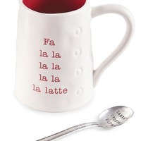 Mud Pie Jingle Til You Tingle Mug & Spoon | Nordstrom