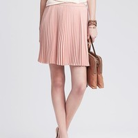 Banana Republic Womens Soft Pleated Skirt