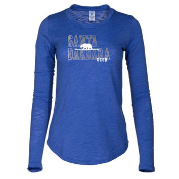 NCAA University of California Santa Barbara Gauchos Women's Tee Shirt