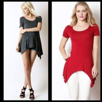 Trapeze Short Sleeve Tunic