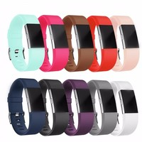 Silicone Sport replacement Wristband For Fitbit Charge 2
