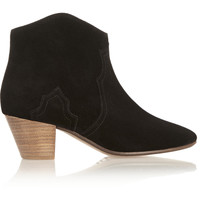 The Dicker suede ankle boots