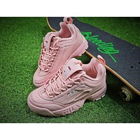 FILA Disruptor II 2 All Pink Shoes FW0165-038