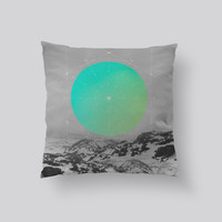 Throw Pillows for Couches / Middle of Nowhere Landscape 1 by Soaring Anchor Designs