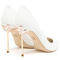 Sophia Webster Coco Pointed Leather Pumps