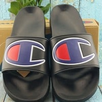Champion Casual Fashion Women Men Sandal Slipper Shoes