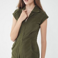 Show Me Your Mumu Outlaw Corduroy Romper | Urban Outfitters