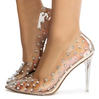 Diamonique-2 High Heels