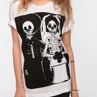 Urban Outfitters - LEAF Death Marriage Oversized Tee