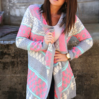Enjoy The Ride {Neon Cardigan}