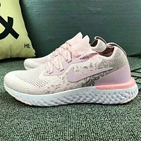 NIKE Fashion new sports running women shoe Pink