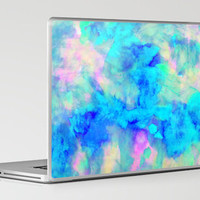 Electrify Ice Blue Laptop & iPad Skin by Amy Sia | Society6