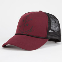 O'neill Aja Womens Trucker Hat Burgundy One Size For Women 25363532001