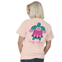 "Simply Southern Turtle ""Cheer"" Short Sleeve Tee SALE"