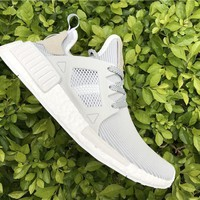 Adidas Originals NMD Runne white Basketball Shoes 40-45