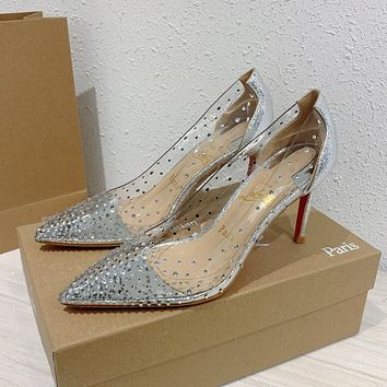 shosouvenir Christian Louboutin 2020 Louboutin Fashion casual high heels
