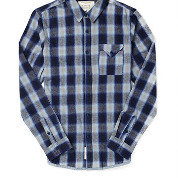 Native Youth Blurred Check Shirt