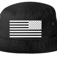 us flag bucket hat