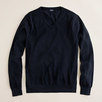 J.Crew Mens Slim Cotton-Cashmere V-Neck Sweater