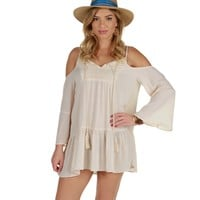 Taupe Summer Daze Tunic