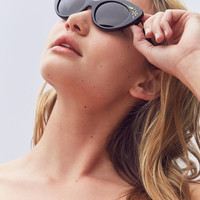 Crap Eyewear The Wild Gift Flower Cat-Eye Sunglasses | Urban Outfitters