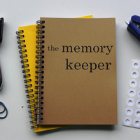 the memory keeper - 5 x 7 journal
