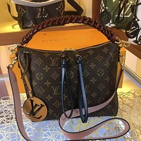 lv louis vuitton women leather shoulder bags satchel tote bag handbag shopping leather tote crossbody 183