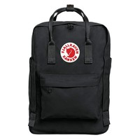 "Black Fjallraven - Kanken Laptop 15"" Backpack for Everyday"
