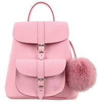 Grafea Women's Belle Fur Pom Backpack