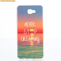 For SAMSUNG GALAXY J2 J5 J7 Prime G532 G570 G610 soft Gel TPU+IMD phone case silicone Crystal  Colorful Printing back cover