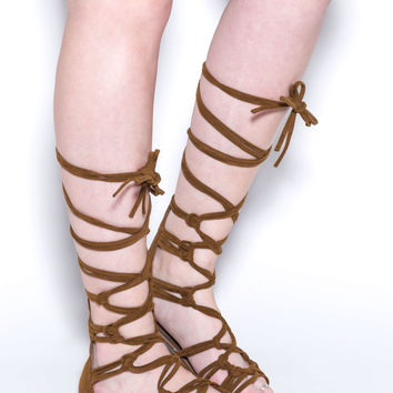 Knotty By Nature Gladiator Sandals GoJane.com