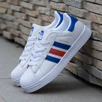 """Adidas"" Fashion Shell-toe Flats Sneakers Sport Shoes"