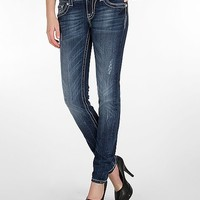 Miss Me Winged Cross Skinny Stretch Jean