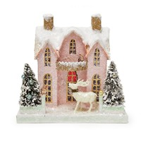 Kitschy Pink Cottage