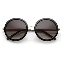 New Round Fashion Designer Womens Sunglasses 8692