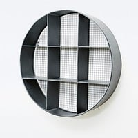 Round Grid Wall Shelf - Urban Outfitters