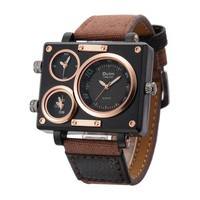 Fabric Strap Male Square Watch Mens Watches Top Brand Luxury Watches Famous Brands Designer Clock Casual Man Hours