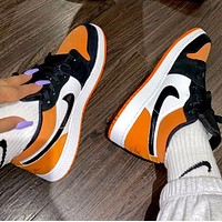 Nike Air Jordan AJ1 Mid top casual sports basketball shoes
