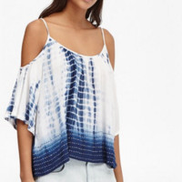 French Connection Holiday Wave Cold Shoulder Top ( Trunk Show)