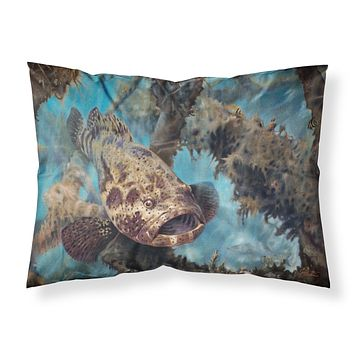 Golden Goliath Grouper Fabric Standard Pillowcase JMA2003PILLOWCASE