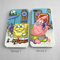 Spongebob patrick Best Friends Matching Phone Cases for iPhone Case
