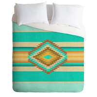 Deny Designs Fiesta Teal Luxe Duvet Cover Teal Green One Size For Men 23686351201