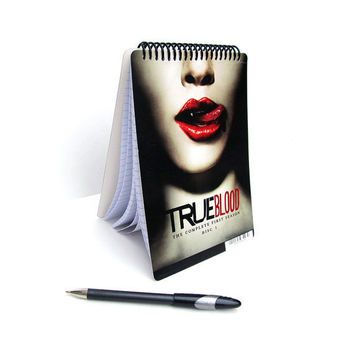 True Blood Notebook / Journal UpCycled