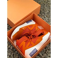 Nike Air Fear Of God 1 Fog Orange/ White Sneakers