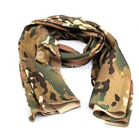 New Fashion Style Army Scarf Bandana Lightweight Soft Camouflage Military Scarf Men`s Silk Scarf Pashmina A1