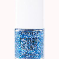 FOREVER 21 Cobalt Feather Nail Polish Blue/Silver One